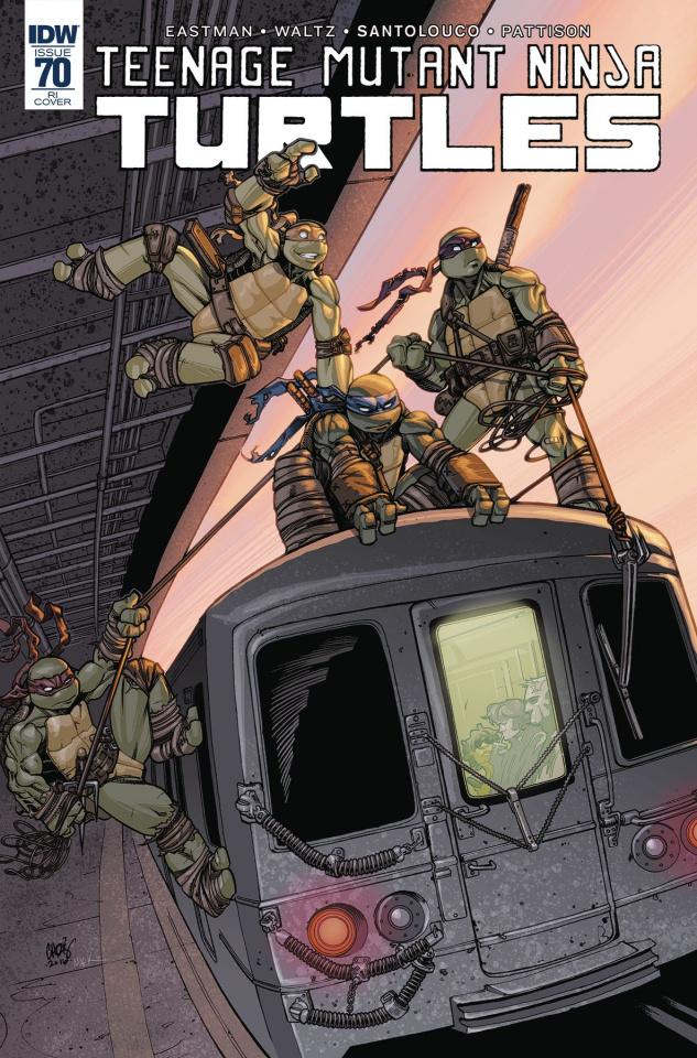 Teenage Mutant Ninja Turtles #70 (10 Copy Cover)