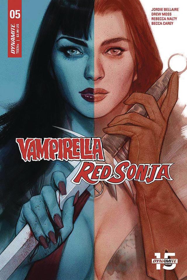 Vampirella / Red Sonja #5 (Oliver Cover)