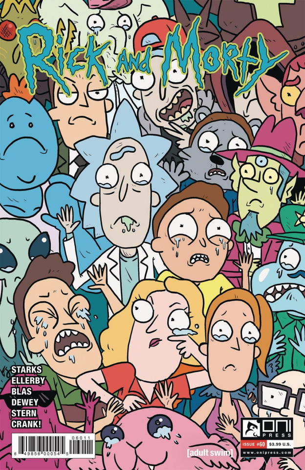 Rick and Morty #60 (Starks Cover)