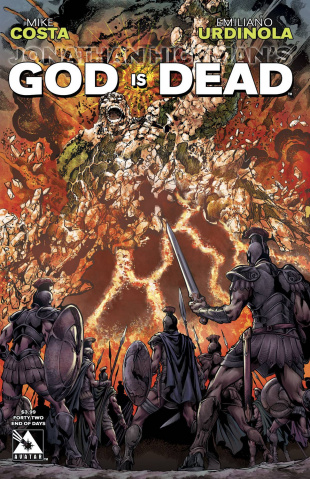 God Is Dead #42 (End of Days Cover)