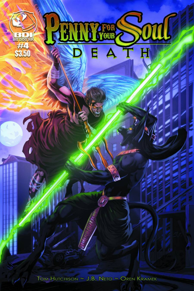 A Penny for Your Soul: Death #4