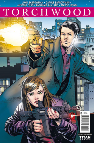 Torchwood 2 #1 (Johnson Cover)