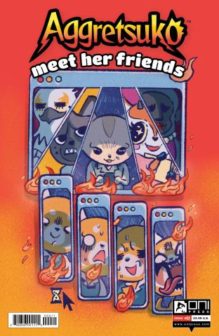 Aggretsuko: Meet Her Friends #2 (Daguna Cover)