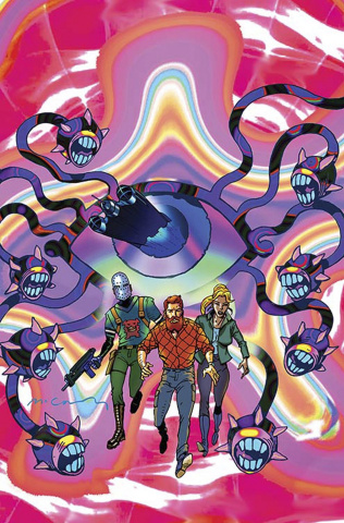 Cave Carson Has a Cybernetic Eye #6 (Variant Cover)