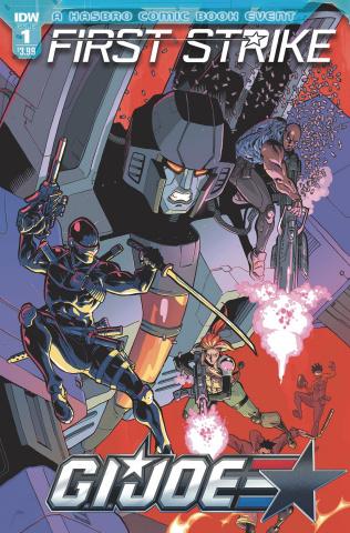 G.I. Joe: First Strike #1 (Johnson Cover)
