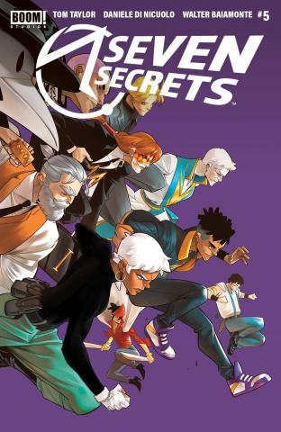 Seven Secrets #5 (2nd Printing)
