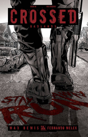 Crossed: Badlands #88 (Red Crossed Cover)