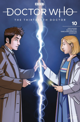 Doctor Who: The Thirteenth Doctor #10 (Tenth Doctor Cover)