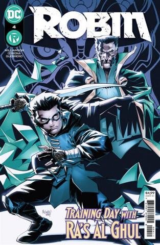 Robin #4 (Gleb Melnikov Cover)