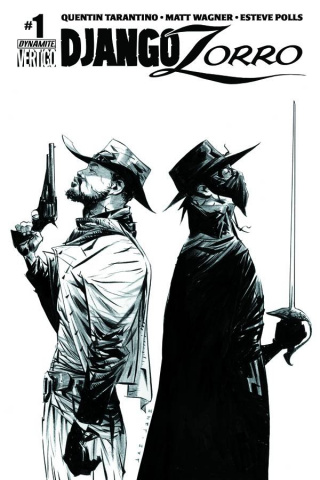 Django / Zorro #1 (50 Copy Cover)
