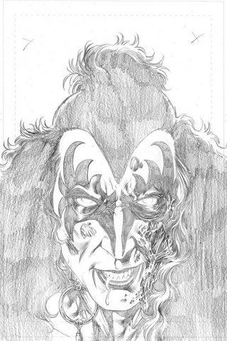 KISS: Zombies #1 (15 Copy Buchemi Sneak Peek Pencil Cover)