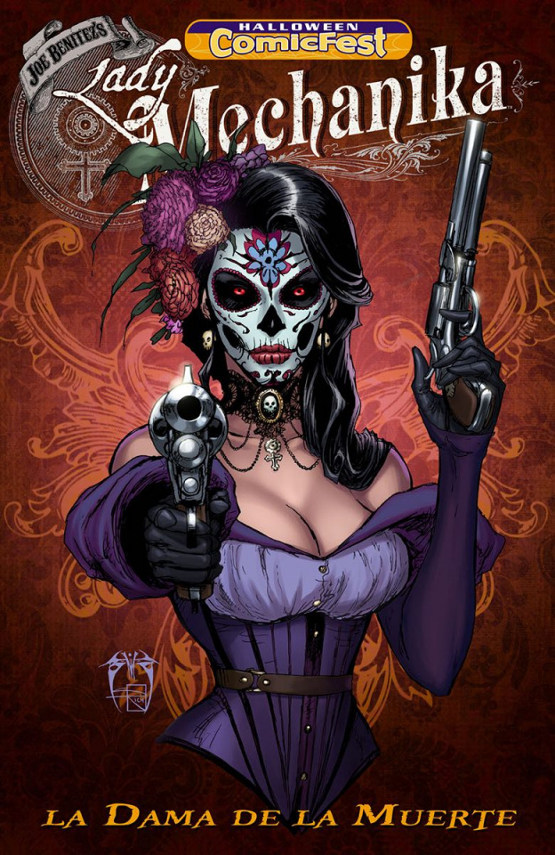 Lady Mechanika: La Dama de la Muerte (Halloween Comic Fest)