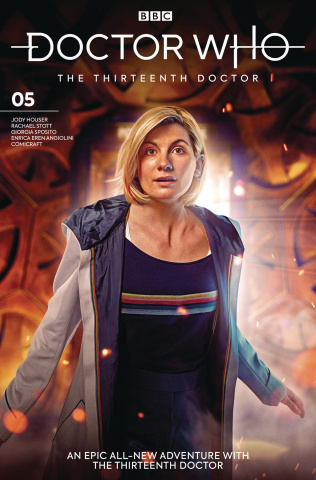 Doctor Who: The Thirteenth Doctor #5 (Photo Cover)