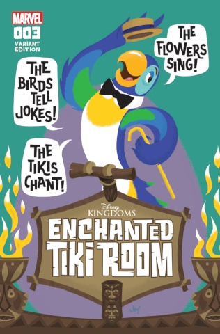 Enchanted Tiki Room #3 (Grandt Connection Cover)