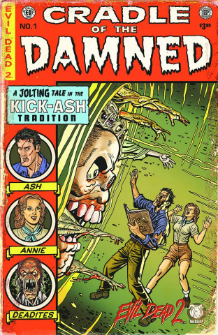Evil Dead 2: Cradle of the Damned #1 (10 Copy Cover)