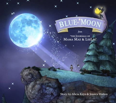 "Blue Moon: From The Journals of ""Mama Mae And LeeLee"""