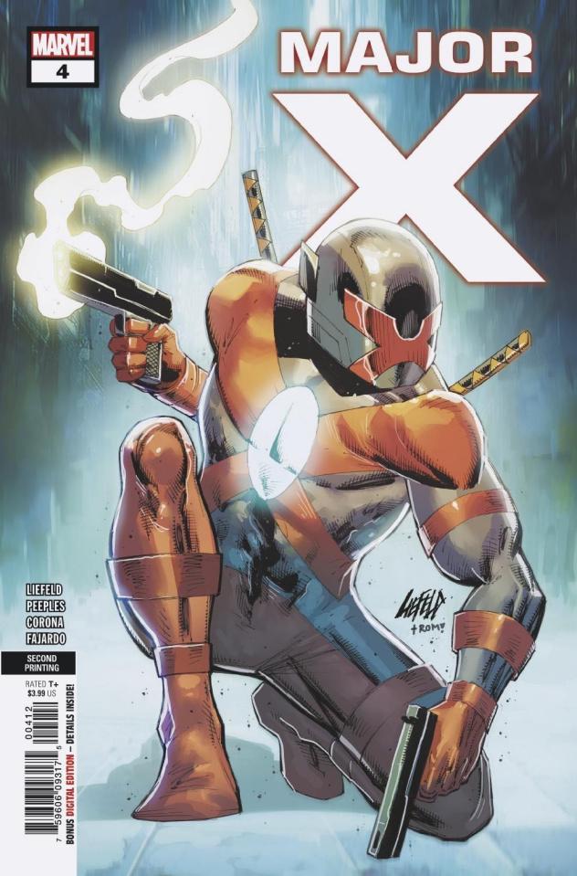 Major X #4 (Peeples 2nd Printing)