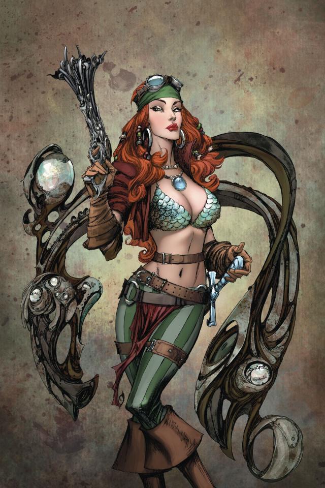 Legenderry: Red Sonja #1 (20 Copy Virgin Cover)