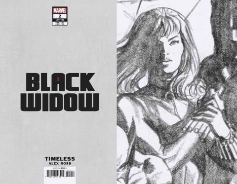 Black Widow #2 (Ross Black Widow Timeless Virgin Sketch Cover)