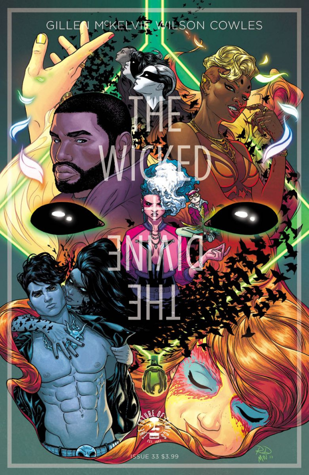 The Wicked + The Divine #33 (Dauterman Cover)
