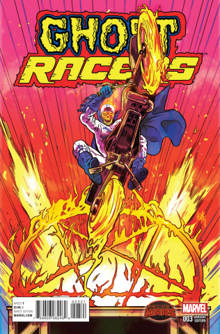 Ghost Racers #3 (Smith Johnny Blaze Cover)