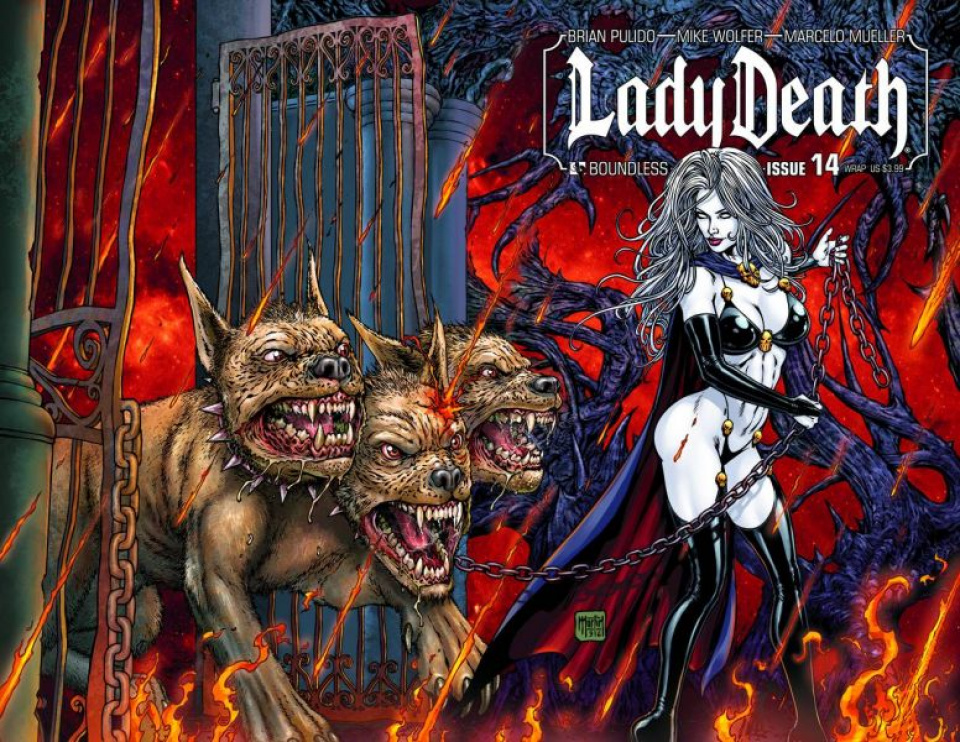 Lady Death #14 (Wrap Cover)