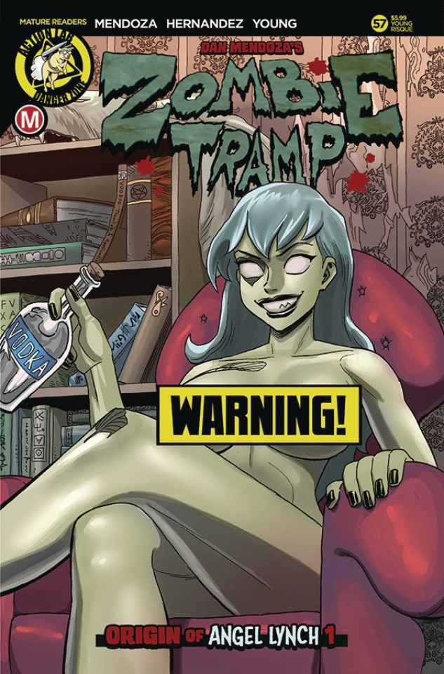 Zombie Tramp #57 (Young Risque Cover)