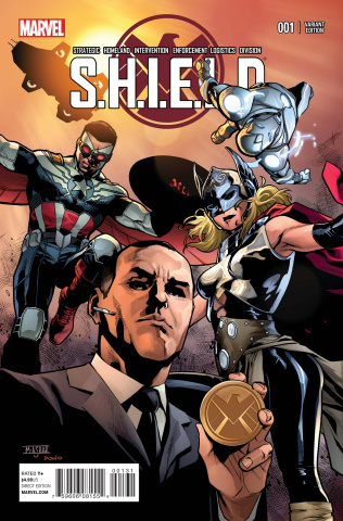 S.H.I.E.L.D. #1 (6 Young Guns Cover)