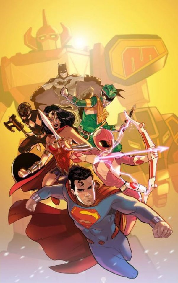 Justice League / Power Rangers #1 (2nd Printing)