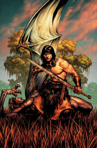 Conan the Barbarian #1 (Saiz Cover)