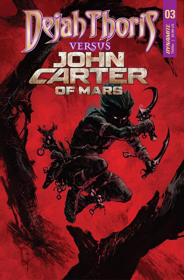 Dejah Thoris vs. John Carter of Mars #3 (Bonus Fiumara Cover)