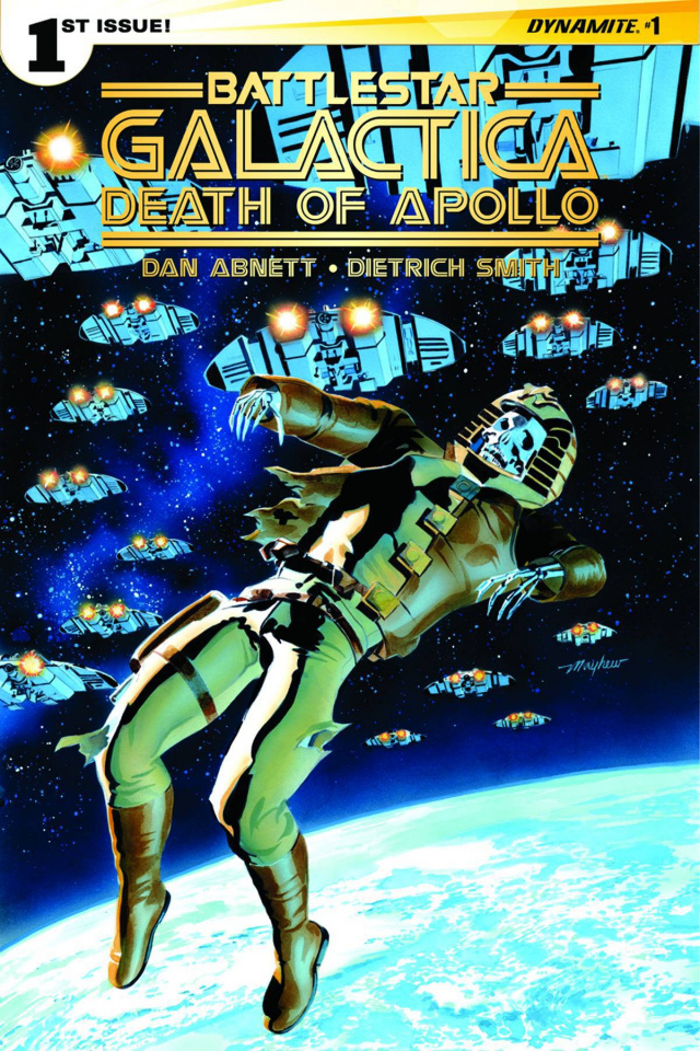 Battlestar Galactica: Death of Apollo #1 (Mayhew Cover)