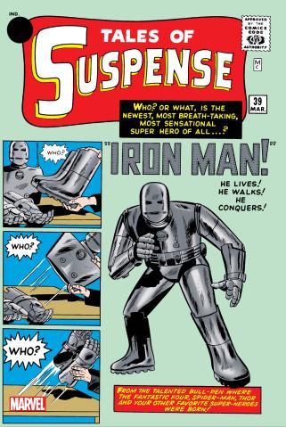 Tales of Suspense #39 (Facsimile Edition)