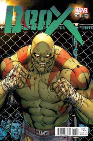 Drax #1 (McGuinness Cover)