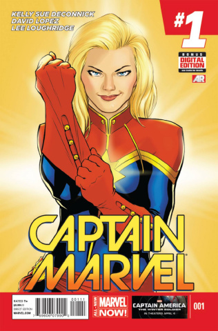 Captain Marvel #1 (2nd Printing)