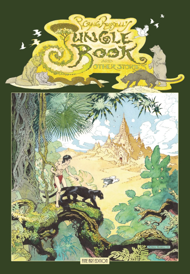 Jungle Book and Other Stories (Fine Art S&N Edition)