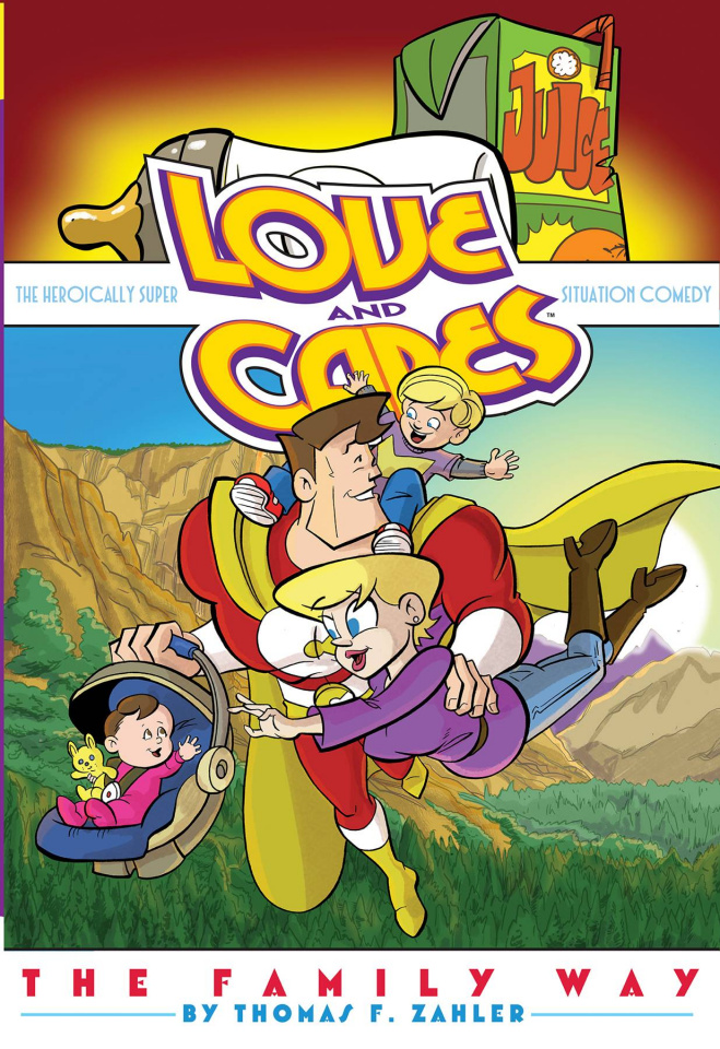 Love and Capes Vol. 5: The Family Way