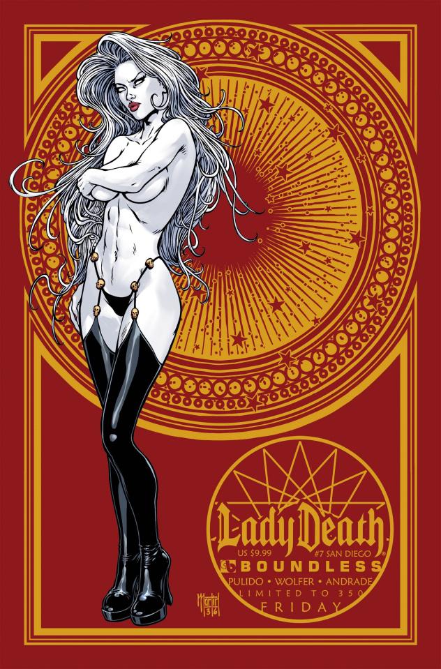 Lady Death #7 (San Diego Friday Cover)