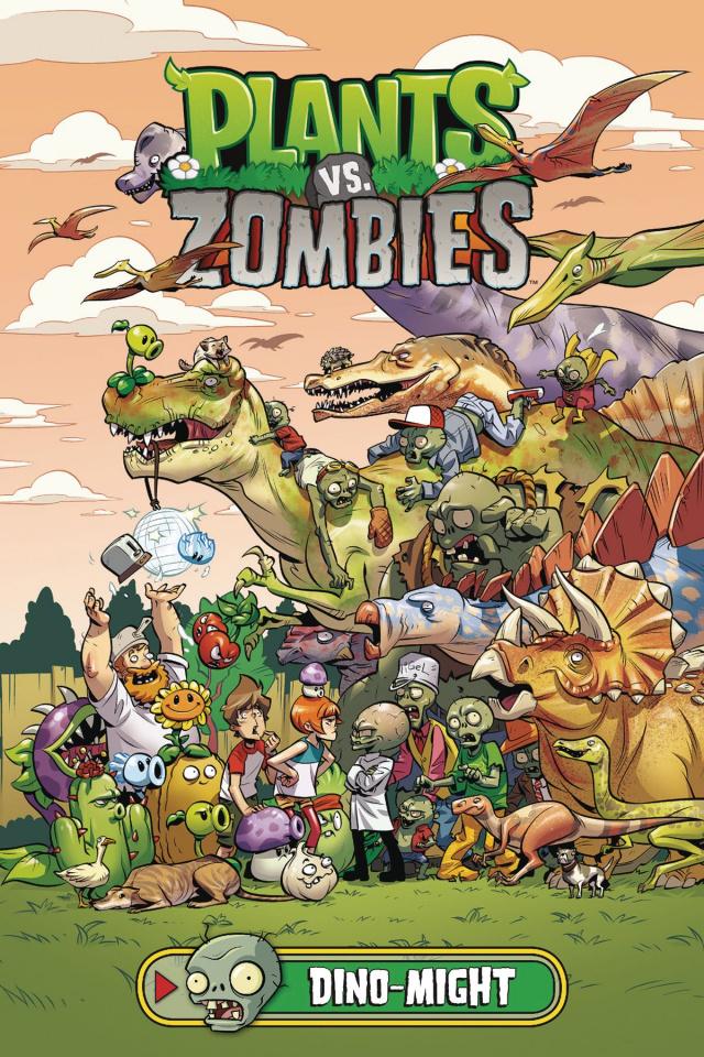 Plants vs. Zombies: Dino-Might