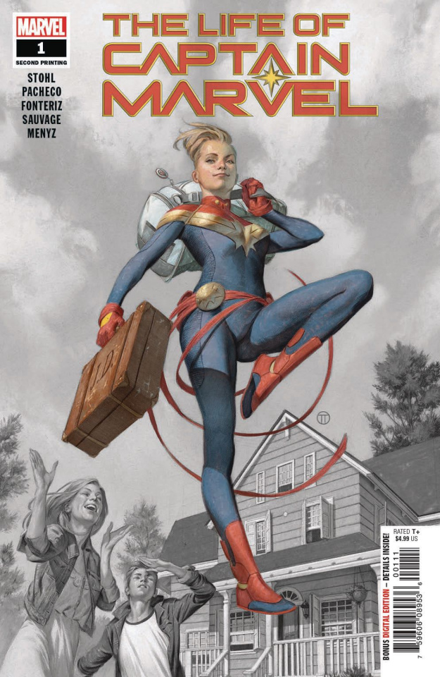 The Life of Captain Marvel #1 (Pacheco 2nd Printing)