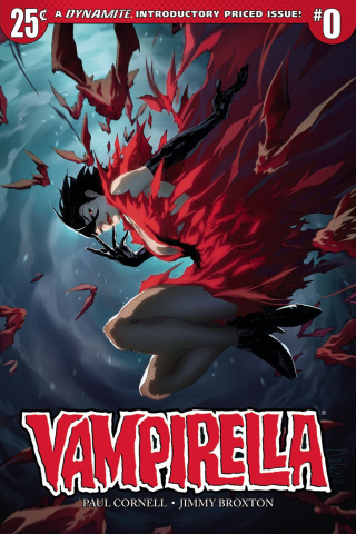 Vampirella #0 (Tan Cover)