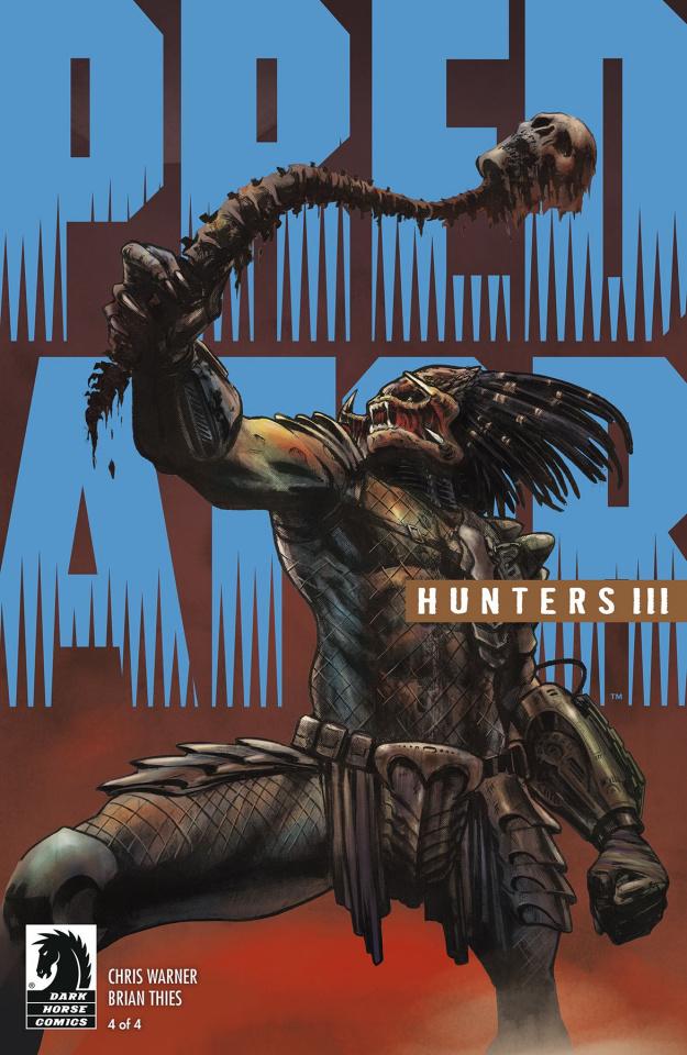 Predator: Hunters III #4 (Thies Cover)