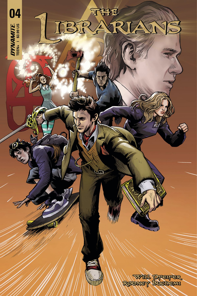 The Librarians #4 (Moline Cover)