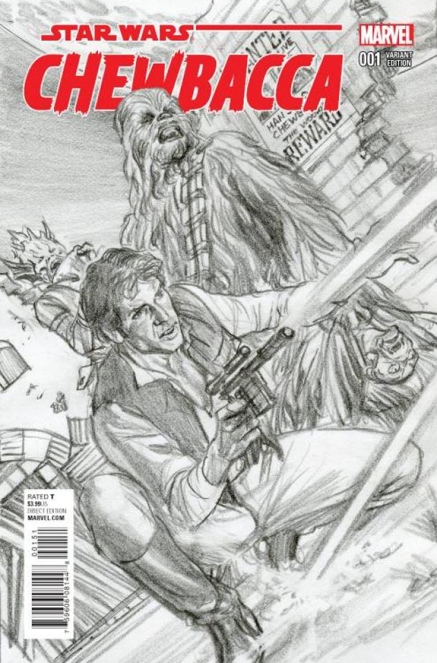 Chewbacca #1 (Ross Sketch Cover)
