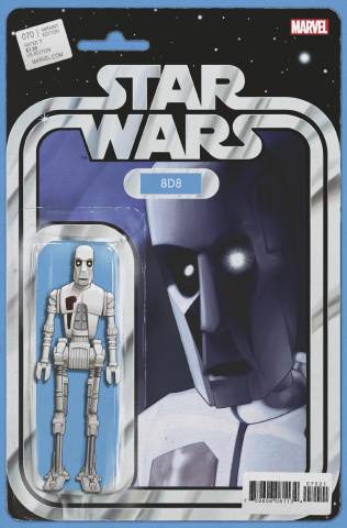 Star Wars #70 (Christopher Action Figure Cover)