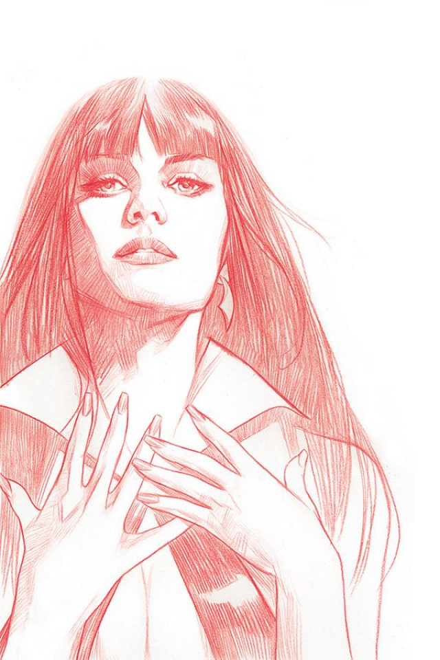 Vengeance of Vampirella #1 (21 Copy Oliver Tint Virgin Cover)