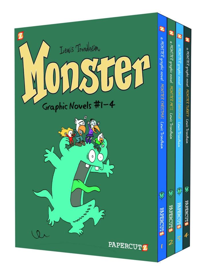 Monster Box Set Vols. 1-4