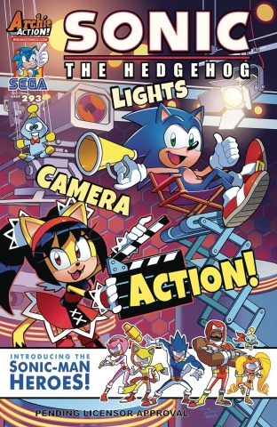 Sonic the Hedgehog #293 (Yardley Cover)