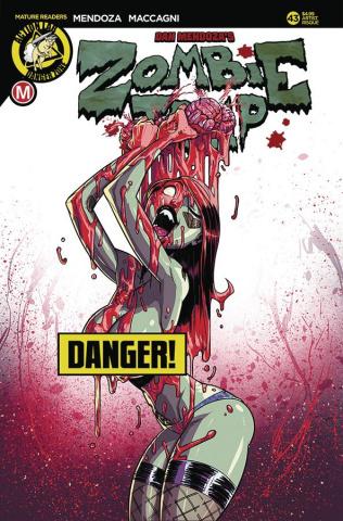 Zombie Tramp #43 (Federhenn Risque Cover)