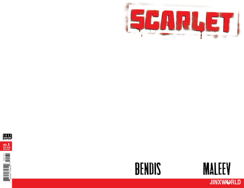Scarlet #1 (Blank Cover)